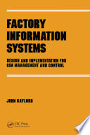 Factory Information Systems Book