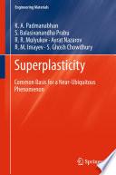Superplasticity