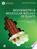 Biochemistry and Molecular Biology of Plants Book