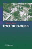 Urban Forest Acoustics