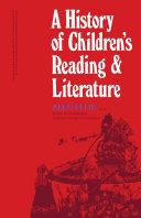 A History of Children's Reading and Literature Pdf/ePub eBook