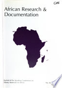 African Research and Documentation