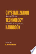 Crystallization Technology Handbook