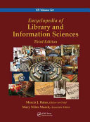 Encyclopedia of Library and Information Sciences  Third Edition  Print Version  Book