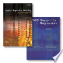 SAS System for Regression + Applied Regression Modeling