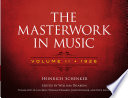 The Masterwork In Music Volume Ii 1926