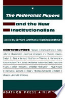 The Federalist Papers and the New Institutionalism