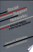 Social Support Networks Book