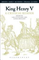 King Henry V: A Critical Reader [Pdf/ePub] eBook
