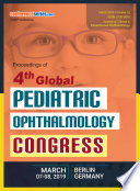 Proceedings of 4th Global Pediatric Ophthalmology Congress : 2019