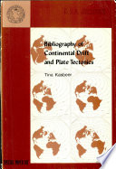 Bibliography of Continental Drift and Plate Tectonics