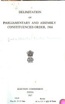Delimitation of Parliamentary and Assembly Constituencies Order  1966