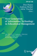 Next Generation of Information Technology in Educational Management