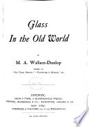 Glass In The Old World Book PDF