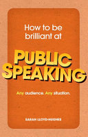 How to be brilliant at Public Speaking ePub eBook