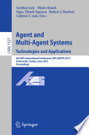 Agent and Multi Agent Systems  Technologies and Applications