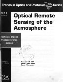 Optical Remote Sensing of the Atmosphere