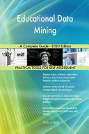 Educational Data Mining A Complete Guide   2020 Edition