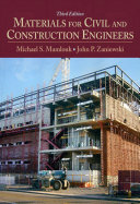 Materials for Civil and Construction Engineers Book PDF