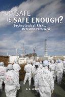 How Safe is Safe Enough? Pdf/ePub eBook