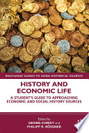 History And Economic Life