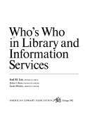 Who s who in Library and Information Services Book