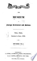 The Museum of Foreign Literature, Science and Art Pdf/ePub eBook