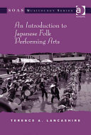 Pdf An Introduction to Japanese Folk Performing Arts