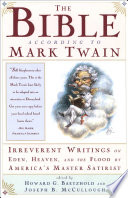 Read Online The Bible According to Mark Twain For Free