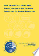 Book Of Abstracts Of The 55th Annual Meeting Of The European Association For Animal Production