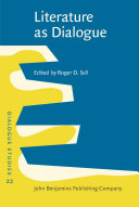Pdf Literature as Dialogue Telecharger