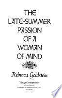 The late-summer passion of a woman of mind