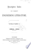 The Engineering Index Annual for