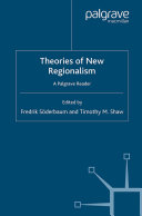 Pdf Theories of New Regionalism