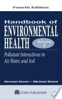 Handbook of Environmental Health  Volume II Book