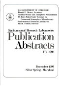 Publications Abstracts