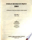 Indian Books in Print