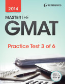 Master The Gmat Practice Test 3