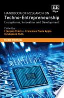 Handbook of Research on Techno Entrepreneurship  Third Edition