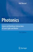 Photonics Pdf/ePub eBook
