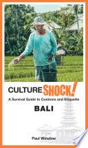 CultureShock  Bali