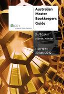 Australian Master Bookkeepers Guide [2009/10]