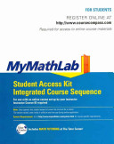 Mymathlab Integrated Course Sequence Student Access Kit
