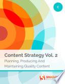 Content Strategy  Vol  2