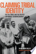 Claiming Tribal Identity Book