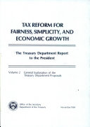 Tax reform for fairness  simplicity  and economic growth