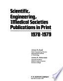 Scientific, Engineering, and Medical Societies Publications in Print, 1978-1979