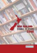 New Zealand Books In Print 2008