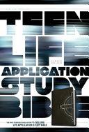 Teen Life Application Study Bible NLT Celtic Cross