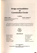 Design and Installation of Comminution Circuits